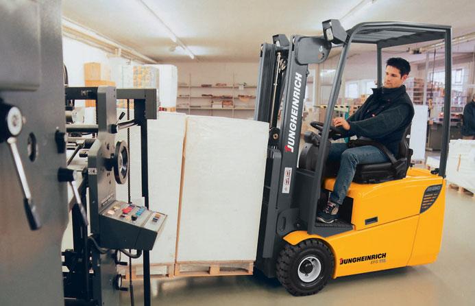 Jungeinrich Forklift