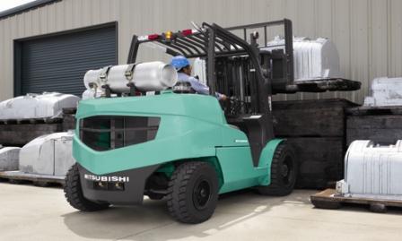 Mitsubishi Pneumatic Tire Forklifts