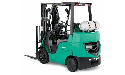 Mitsubishi 35487-D Forklift