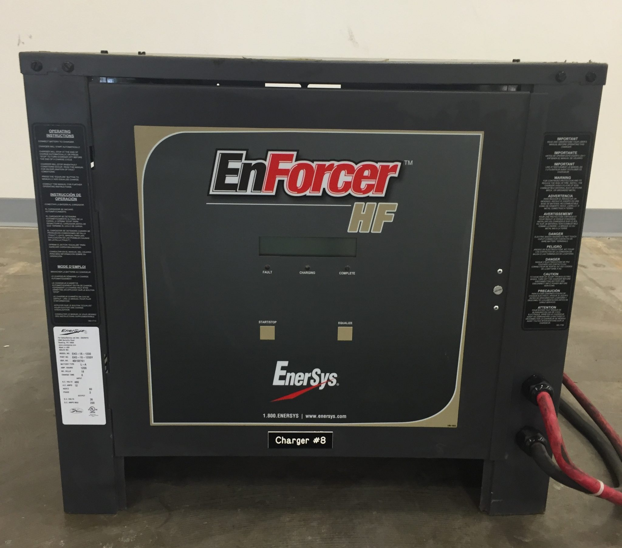 Industrial Battery for Forklifts