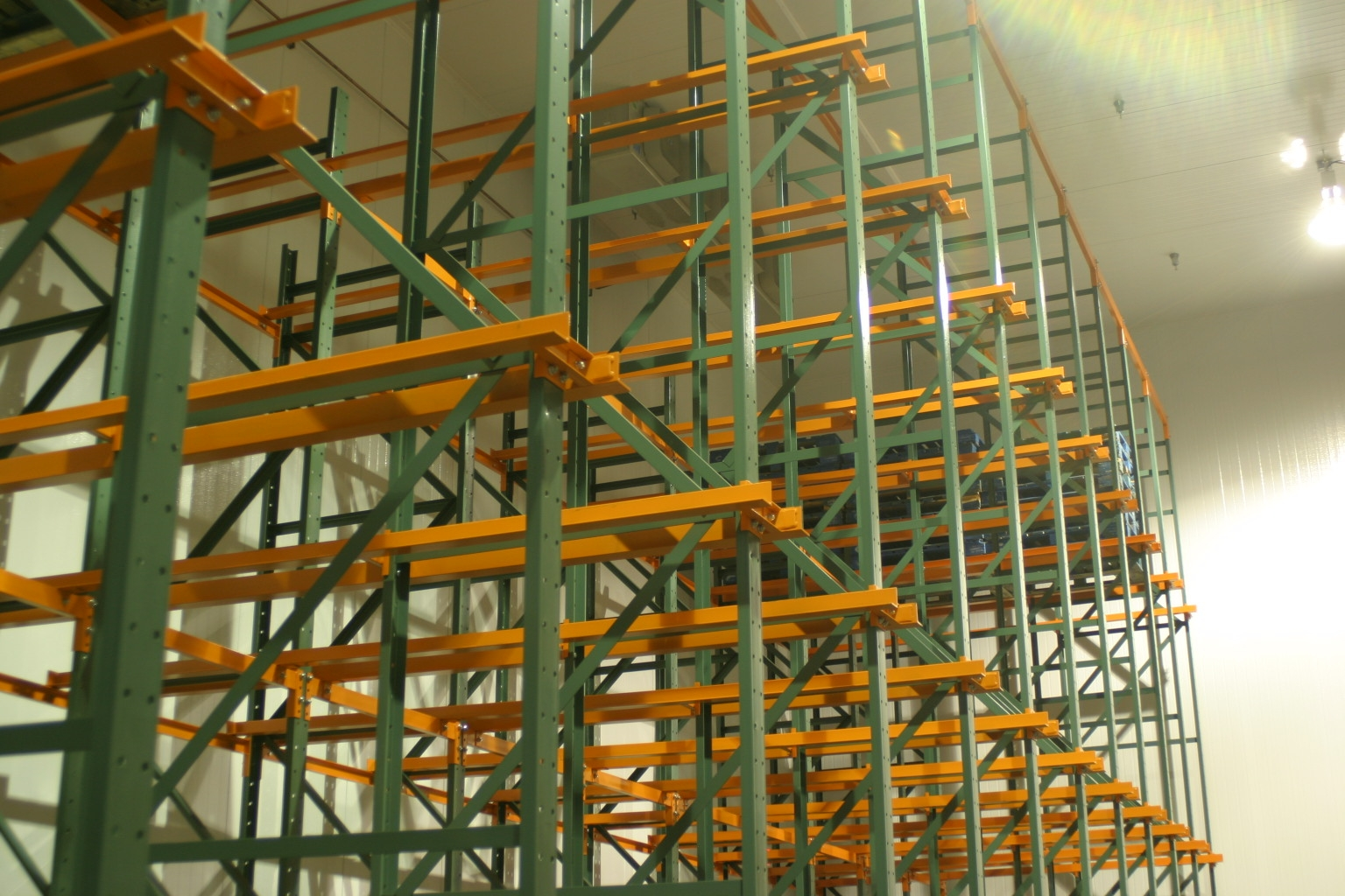 drive in shelving
