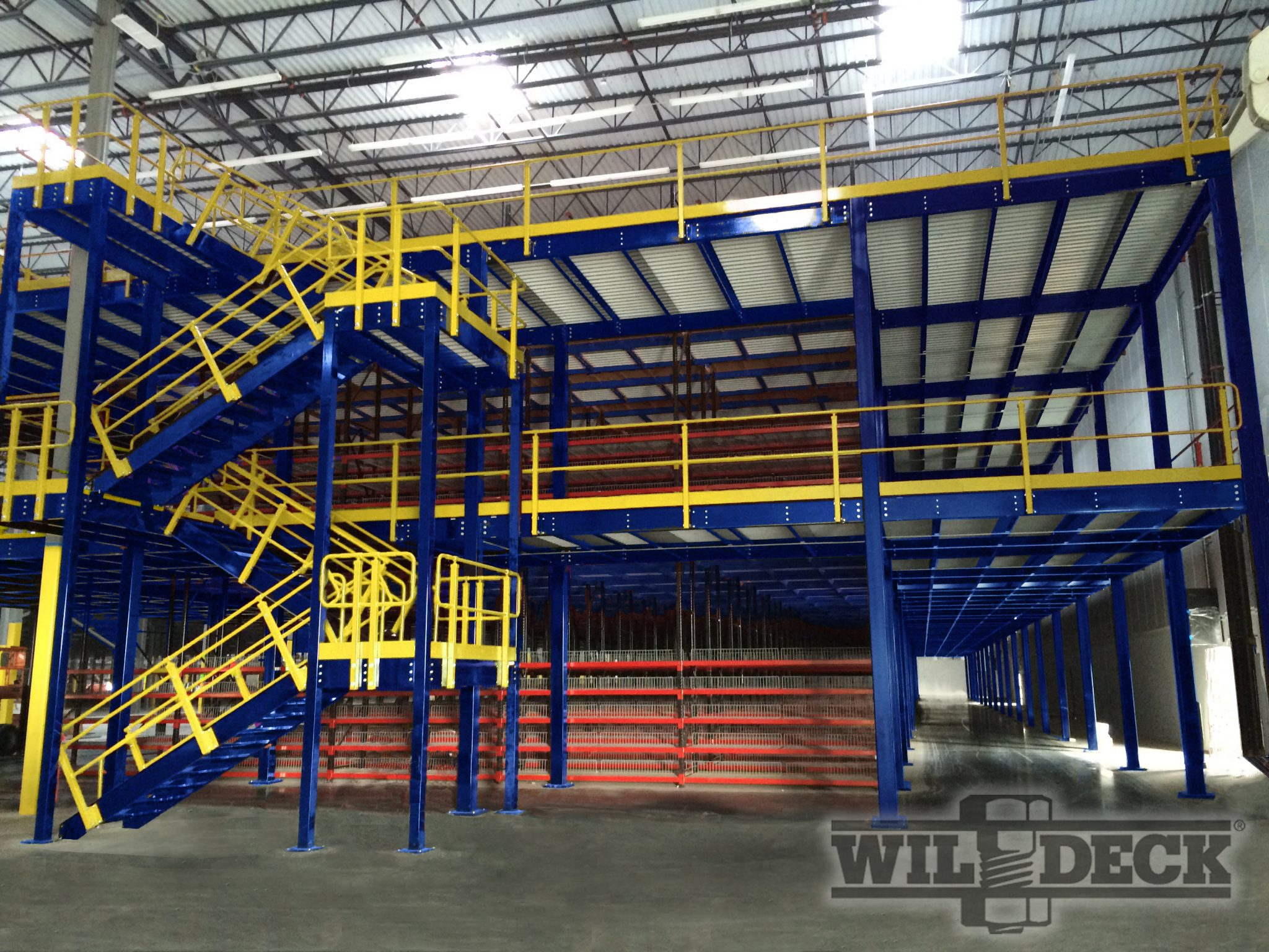 Warehouse Mezzanines Work Platforms Naumann Hobbs