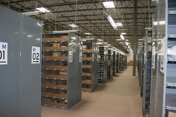parts distribution warehouse system