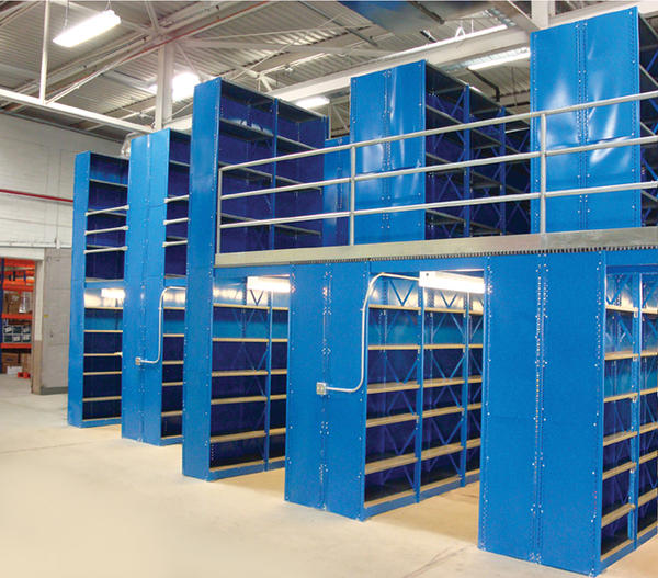 warehouse shelving options